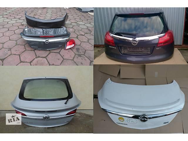 купить бу Б/у крышка багажника для легкового авто Opel Insignia в Львове