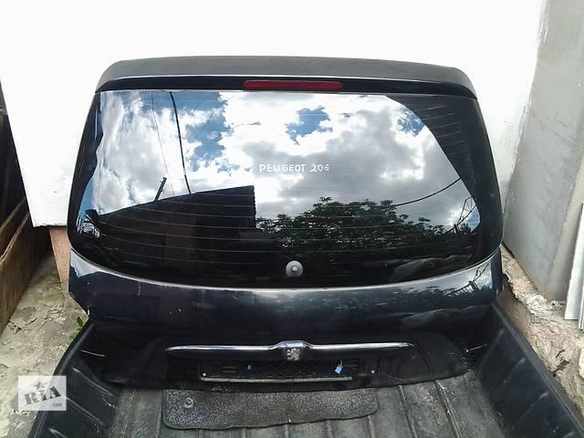 продам Б/у крышка багажника для легкового авто Peugeot 206 Hatchback (5d) бу в Ковеле
