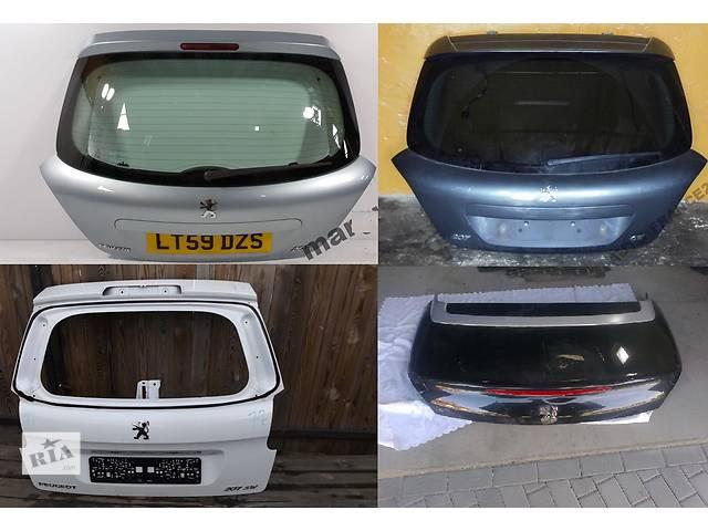 продам Б/у крышка багажника для легкового авто Peugeot 207 бу в Львове