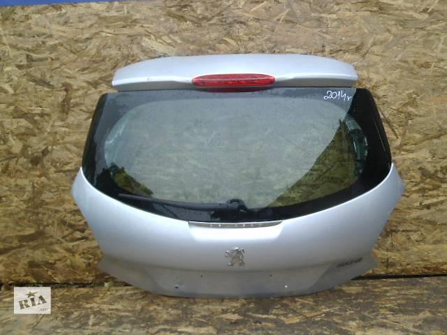 продам Б/у крышка багажника для легкового авто Peugeot 208 бу в Львове