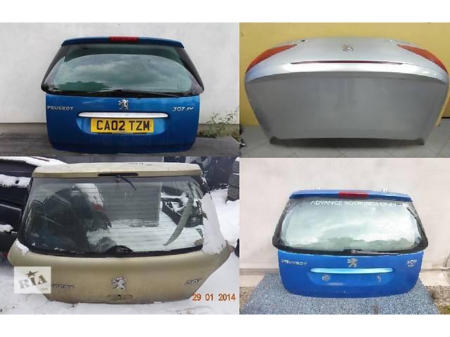 продам Б/у крышка багажника для легкового авто Peugeot 307 бу в Львове