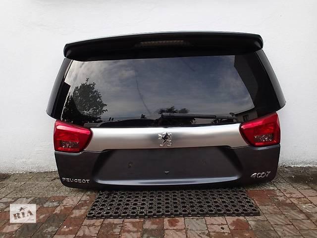 Б/у крышка багажника для легкового авто Peugeot 4007- объявление о продаже  в Львове