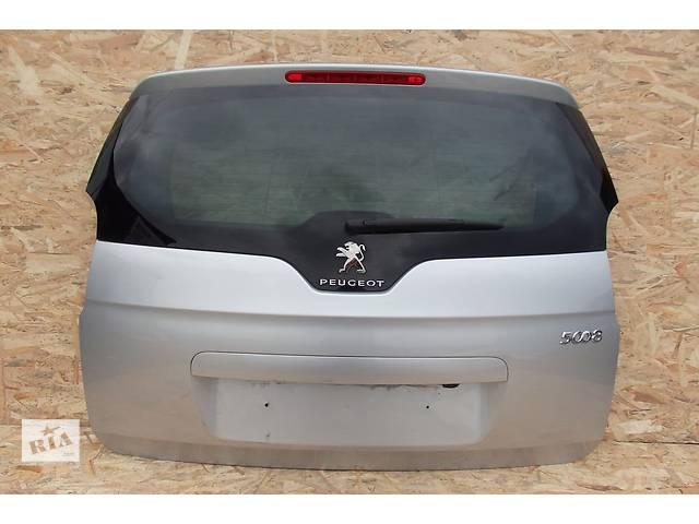 продам Б/у крышка багажника для легкового авто Peugeot 5008 бу в Львове
