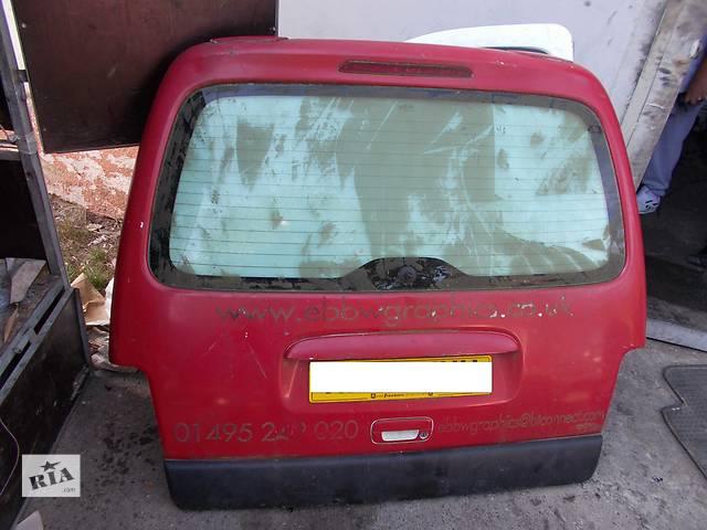 бу Б/у крышка багажника для легкового авто Peugeot Partner в Стрые