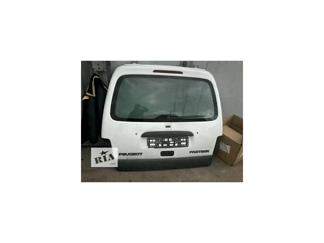 Б/у крышка багажника для легкового авто Peugeot Partner- объявление о продаже  в Луцке