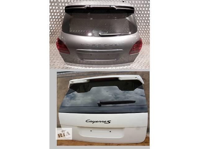 продам Б/у крышка багажника для легкового авто Porsche Cayenne бу в Львове