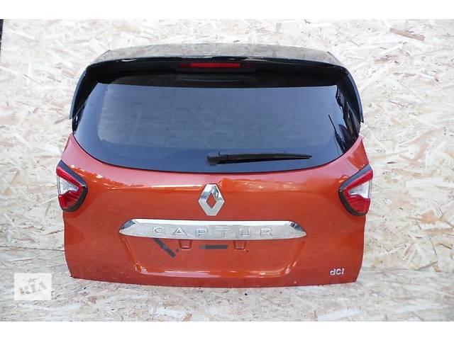 Б/у крышка багажника для легкового авто Renault Captur- объявление о продаже  в Львове