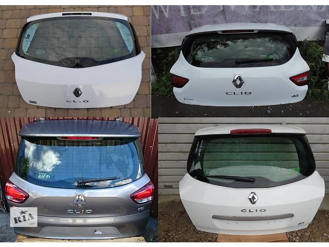 продам Б/у крышка багажника для легкового авто Renault Clio бу в Львове