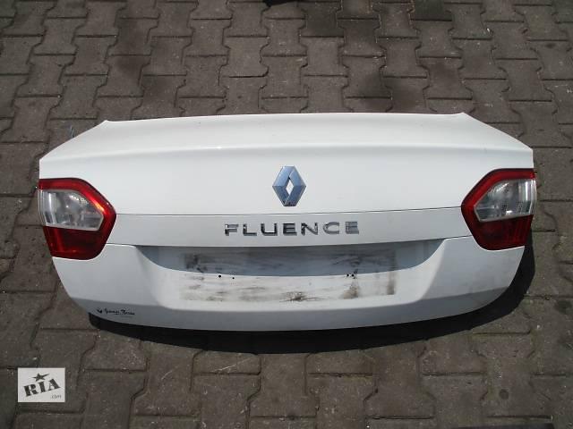 купить бу Б/у крышка багажника для легкового авто Renault Fluence в Львове