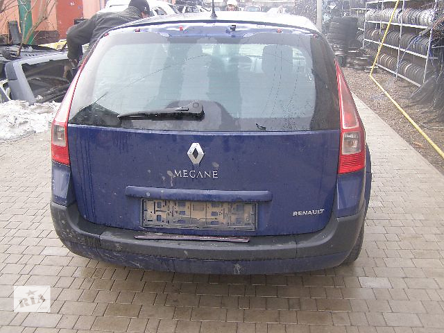 Б/у крышка багажника для легкового авто Renault Megane 2006- объявление о продаже  в Новой Каховке