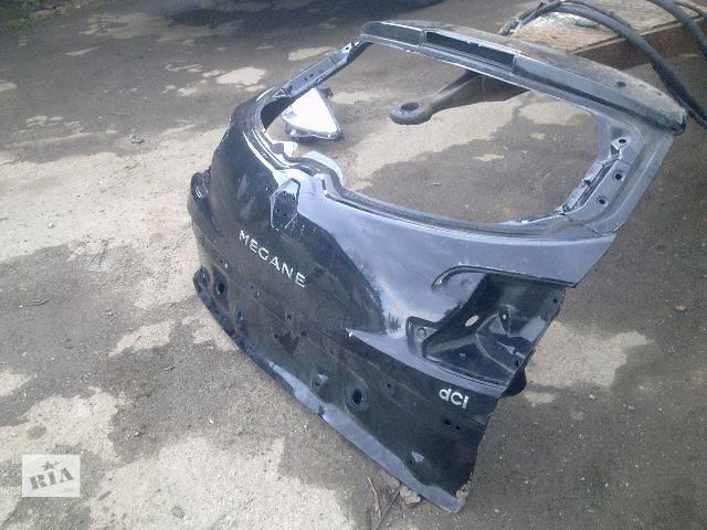 купить бу Б/у крышка багажника для легкового авто Renault Megane 2012 в Калуше