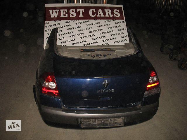 продам Б/у крышка багажника для легкового авто Renault Megane II бу в Луцке