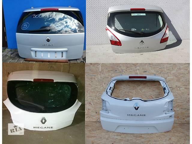 продам Б/у крышка багажника для легкового авто Renault Megane бу в Львове