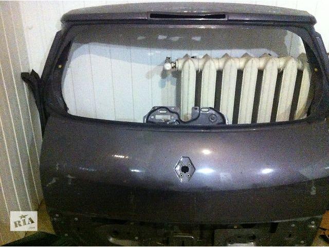 бу Б/у крышка багажника для легкового авто Renault Scenic в Киеве