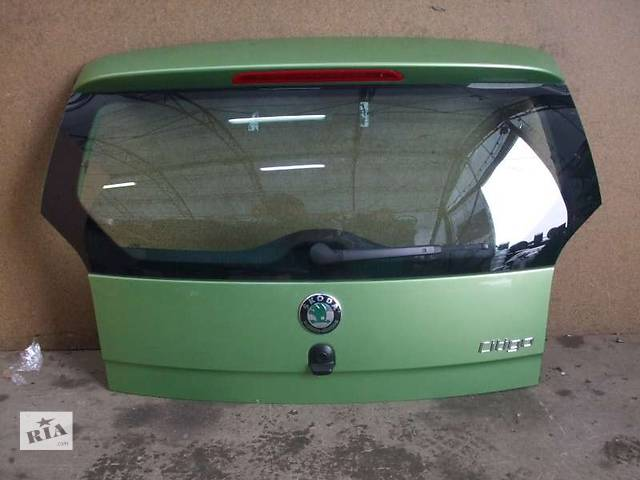 купить бу Б/у крышка багажника для легкового авто Skoda Citigo в Львове