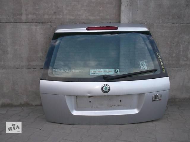 Б/у крышка багажника для легкового авто Skoda Fabia- объявление о продаже  в Львове