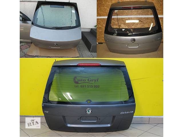 Б/у крышка багажника для легкового авто Skoda Octavia- объявление о продаже  в Львове