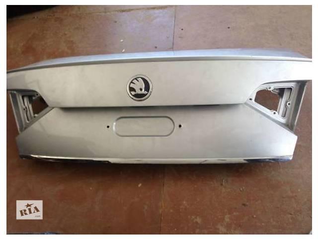 Б/у крышка багажника для легкового авто Skoda SuperB- объявление о продаже  в Львове