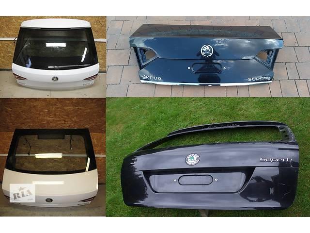 продам Б/у крышка багажника для легкового авто Skoda SuperB бу в Львове