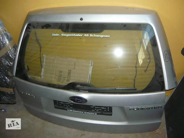 продам Б/у крышка багажника для легкового авто Subaru Forester бу в Ровно