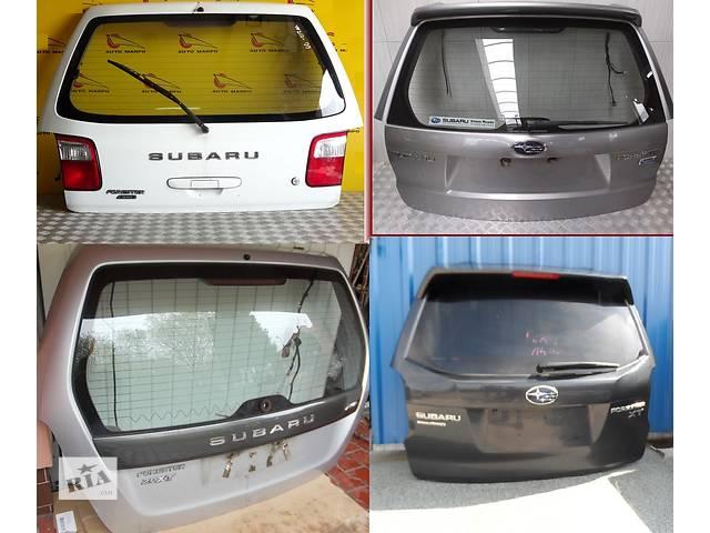 продам Б/у крышка багажника для легкового авто Subaru Forester бу в Львове