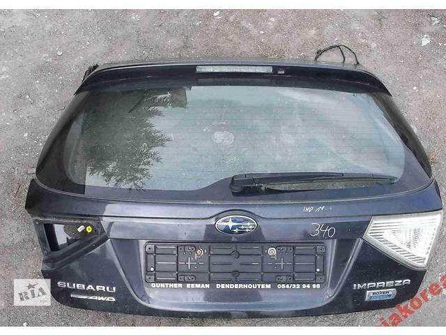 продам Б/у крышка багажника для легкового авто Subaru Impreza бу в Львове