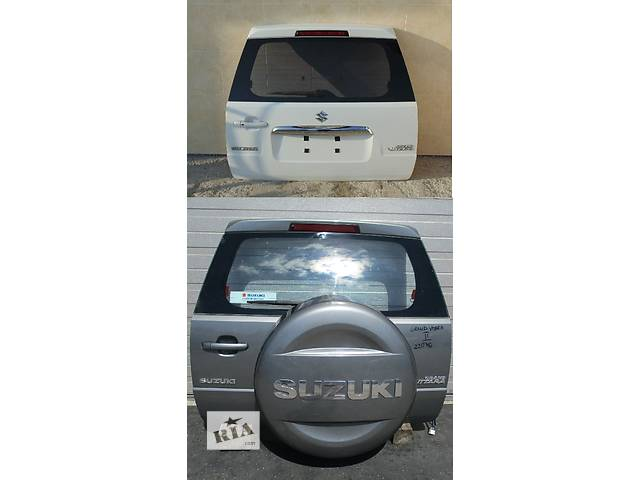 Б/у крышка багажника для легкового авто Suzuki Grand Vitara- объявление о продаже  в Львове