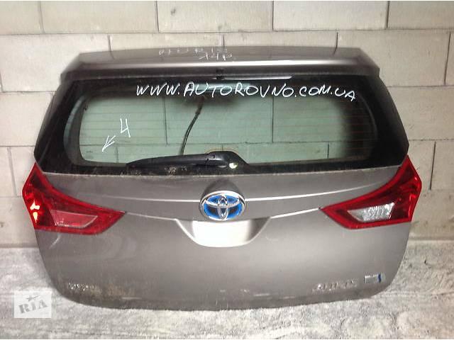 бу Б/у крышка багажника для легкового авто Toyota Auris в Ровно