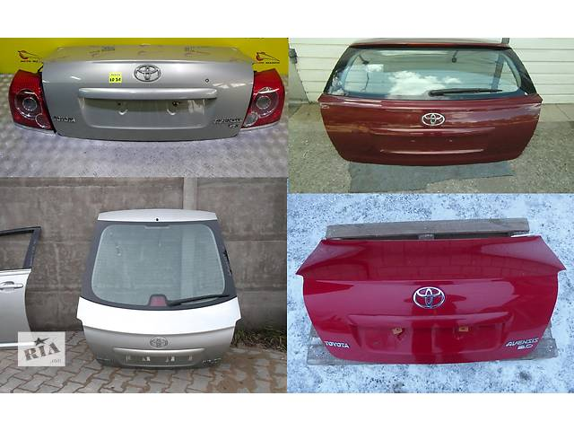 продам Б/у крышка багажника для легкового авто Toyota Avensis t25 бу в Львове