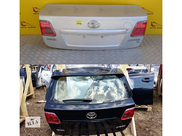 продам Б/у крышка багажника для легкового авто Toyota Avensis t27 бу в Львове