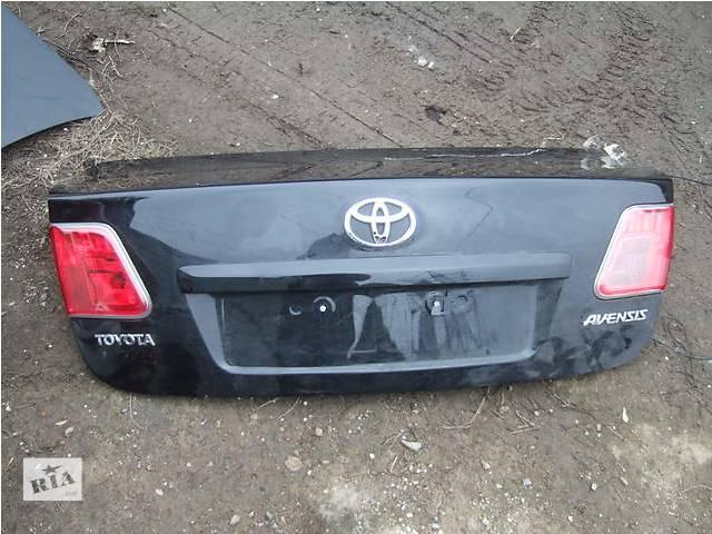 Б/у крышка багажника для легкового авто Toyota Avensis- объявление о продаже  в Ровно