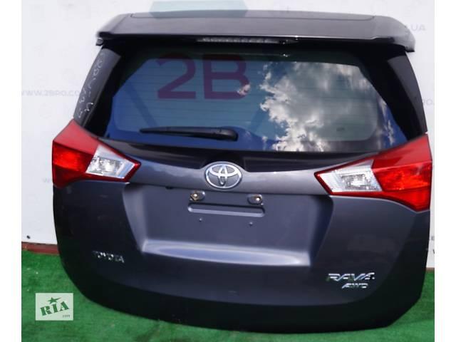 продам Б/у крышка багажника для легкового авто Toyota Rav 4 бу в Киеве