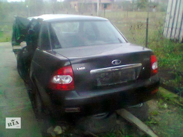 Б/у крышка багажника для легкового авто ВАЗ Приора- объявление о продаже  в Ивано-Франковске