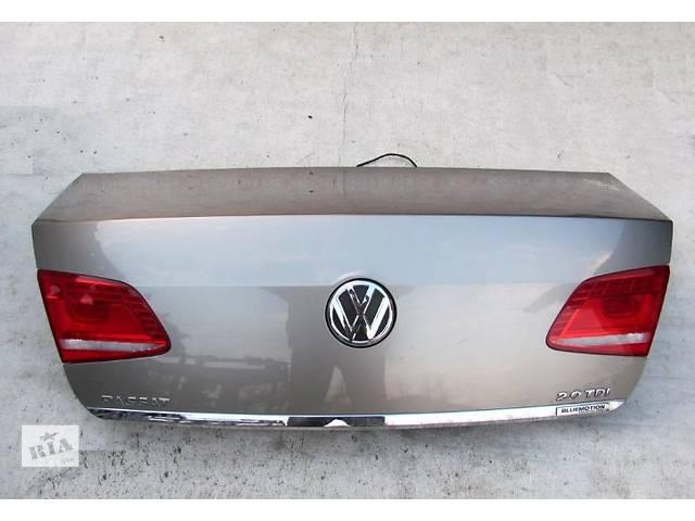 бу Б/у крышка багажника для легкового авто Volkswagen Passat B7 в Чернигове