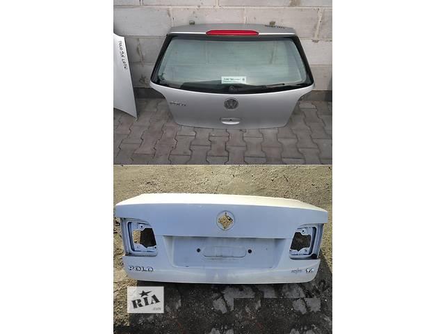 Б/у крышка багажника для легкового авто Volkswagen Polo 9n 01-09- объявление о продаже  в Львове
