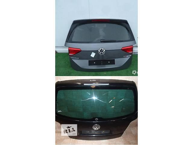 продам Б/у крышка багажника для легкового авто Volkswagen Touran бу в Львове