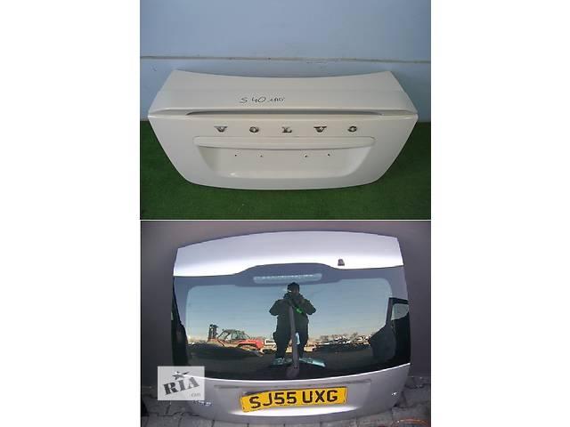 бу Б/у крышка багажника для легкового авто Volvo S40 в Львове
