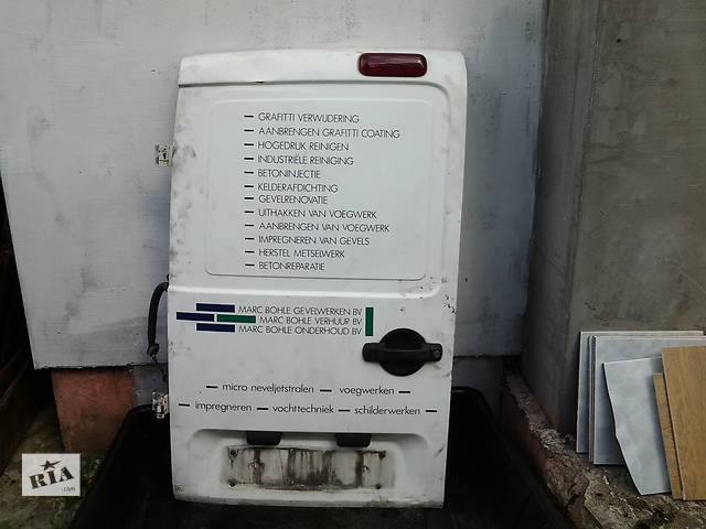 Б/у крышка багажника для минивена Fiat Doblo- объявление о продаже  в Ковеле