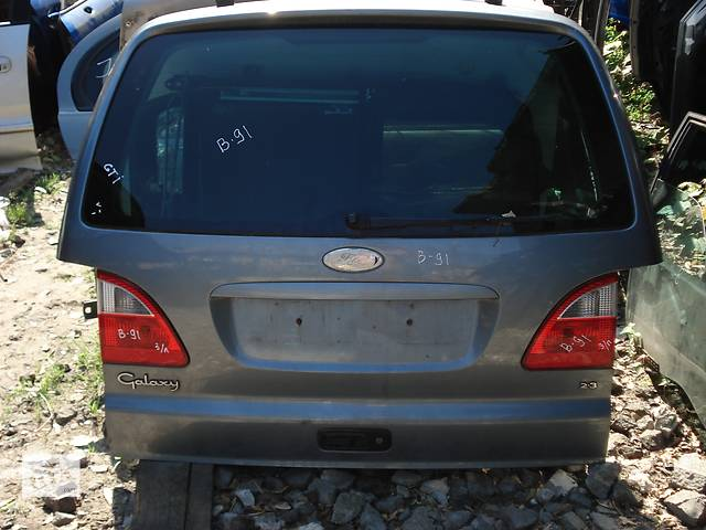 продам Б/у крышка багажника для минивена Ford Galaxy бу в Киеве