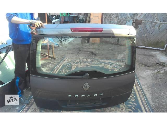 продам Б/у крышка багажника для минивена Renault Espace бу в Ковеле
