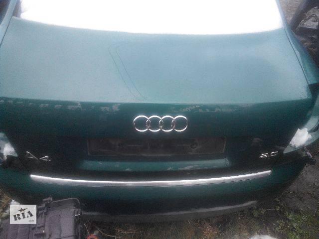 продам Б/у крышка багажника для седана Audi A4 2003 бу в Львове