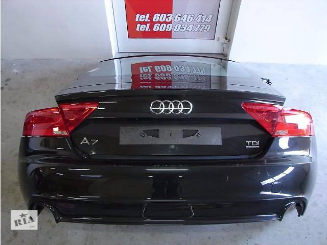 продам Б/у крышка багажника для седана Audi A7 бу в Одессе