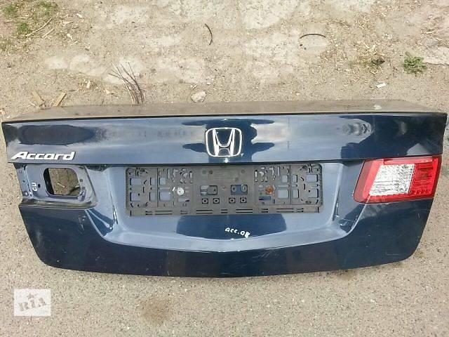продам Б/у крышка багажника для седана Honda Accord бу в Киеве