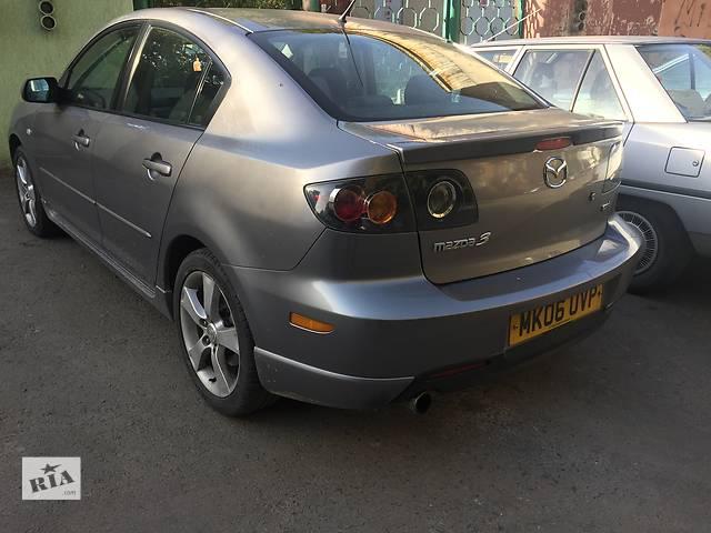 купить бу Б/у крышка багажника для седана Mazda 3 Sedan в Ужгороде