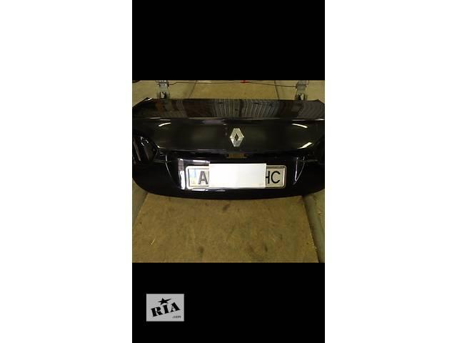 продам Б/у крышка багажника для седана Renault Fluence бу в Днепре (Днепропетровске)