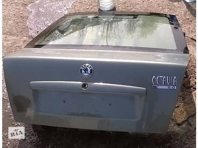 продам Б/у крышка багажника для седана Skoda Octavia Tour 2002-2008г бу в Николаеве