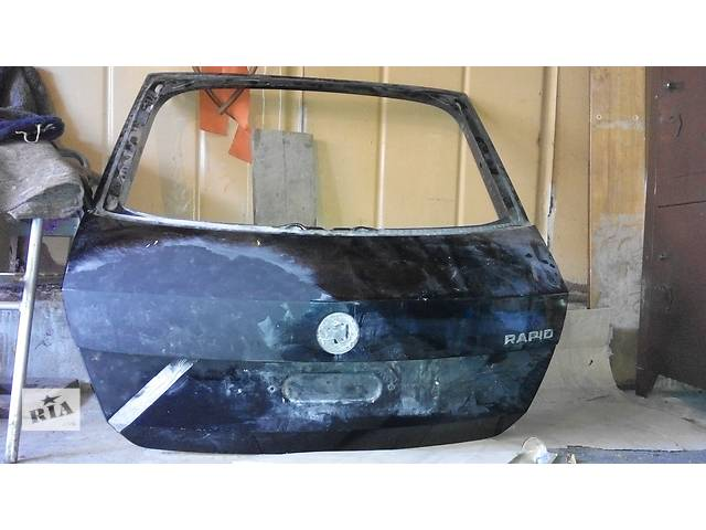 Б/у крышка багажника для седана Skoda Rapid- объявление о продаже  в Львове