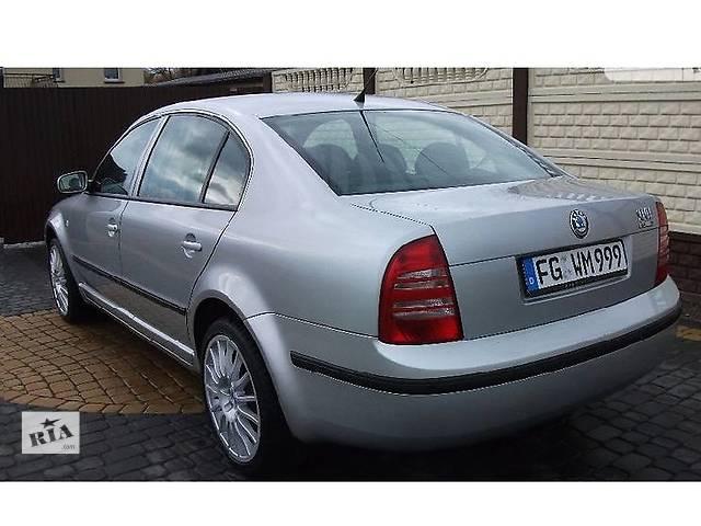 Б/у крышка багажника для седана Skoda SuperB- объявление о продаже  в Ровно