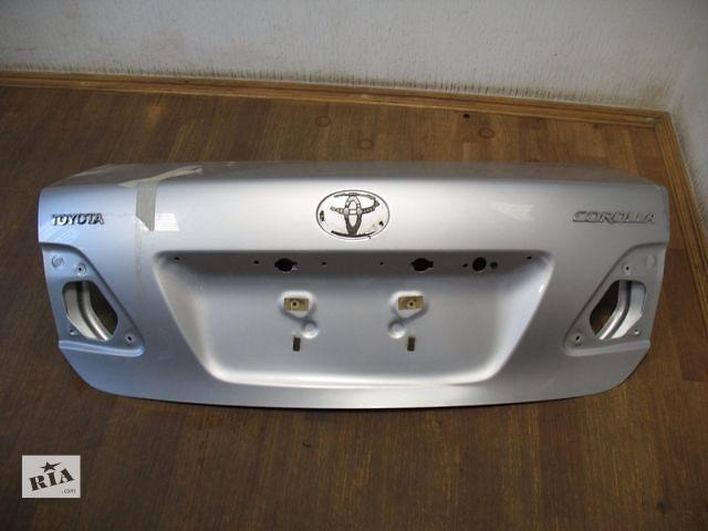 Б/у крышка багажника для седана Toyota Corolla 2008- объявление о продаже  в Киеве