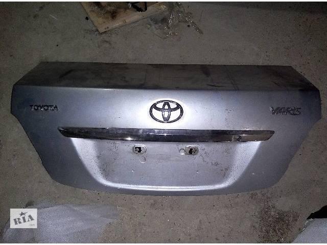 бу Б/у крышка багажника для седана Toyota Yaris Седан 2006,2007,2008 в Одессе